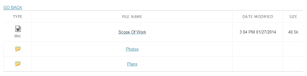 fileaway files and folder showing