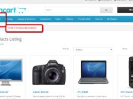 show all products opencart module