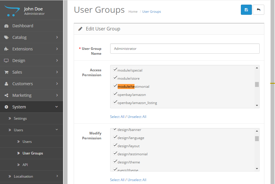 user-group-grant-permission