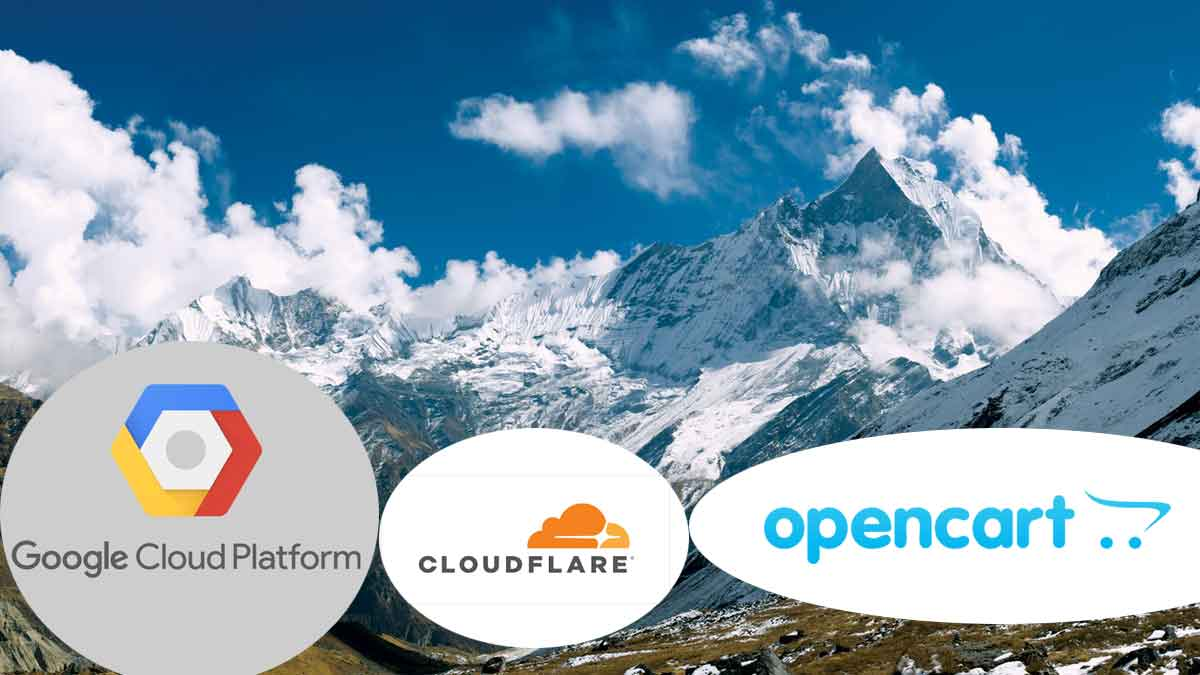 Host Opencart in google cloud for free for one year, DNS, SSL, Cloudflare, SSH