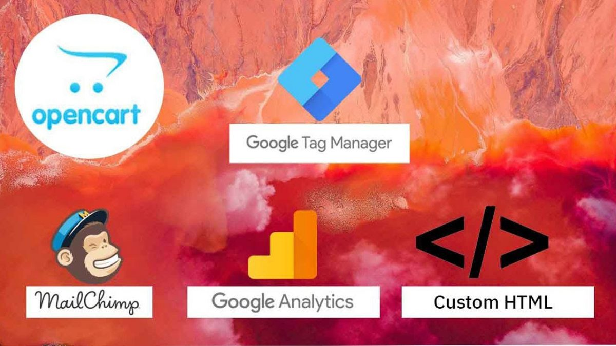 How to add HTML, google analytics, tag manager, third party JS code in Opencart