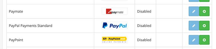 Paypal Payments standard image