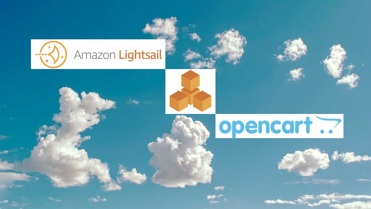 Host LAMP stack in AWS Lightsail, Opencart hosting in AWS