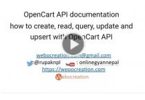 Opencart documentation, video tutorial, free module, theme